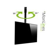 MonLines TV Deckenhalterung elektrisch schwenkbar - 180° drehbar
