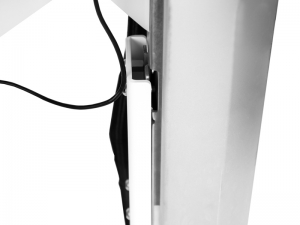 Ergotron Visitenwagen mit MonLines Druckerablage