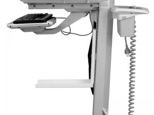 MonLines Druckerablage für Ergotron Visitenwagen