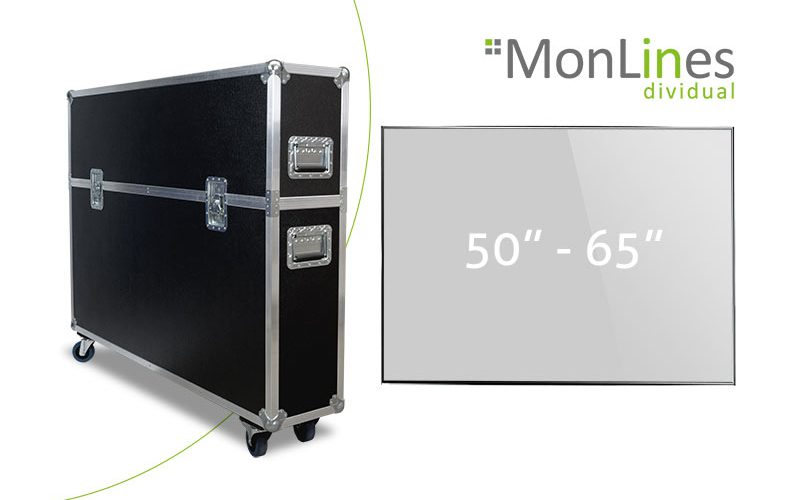 MonLines Display Transportcase 50-65 Zoll