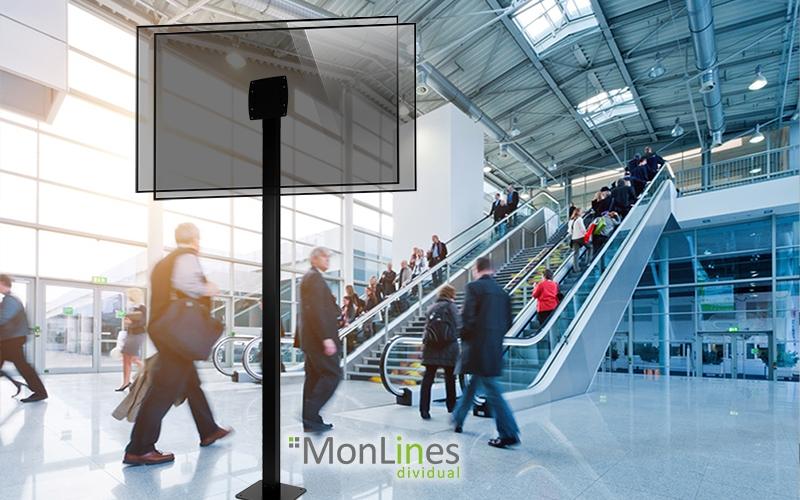 MonLines doppelseitiger Monitorständer für Philips 43 Zoll Display