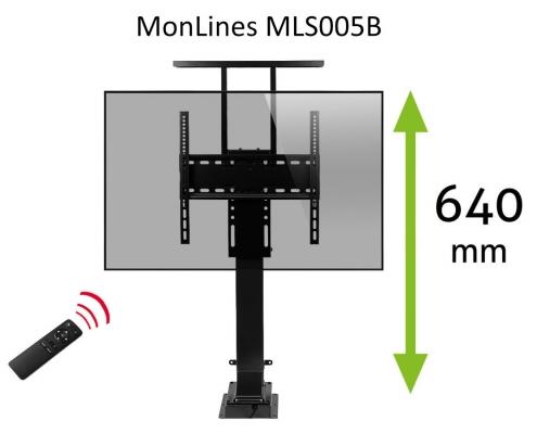 MonLines MLS005B myTVLift Einbau TV Lift elektrisch