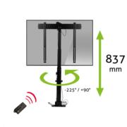 MonLines MLS007B myTVLift Einbau TV Lift 37-65 Zoll, schwenkbar