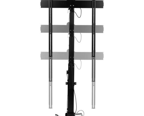 MonLines MLS007B myTVLift Einbau TV Lift 37-65 Zoll, 837 mm Hub, schwarz, elektrisch