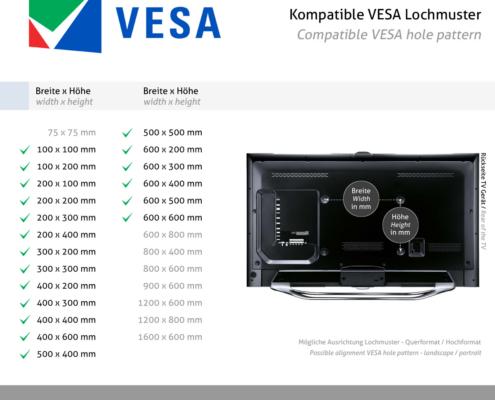 MonLines MLS007B myTVLift Einbau TV Lift 37-65 Zoll, 837 mm Hub, schwarz, VESA
