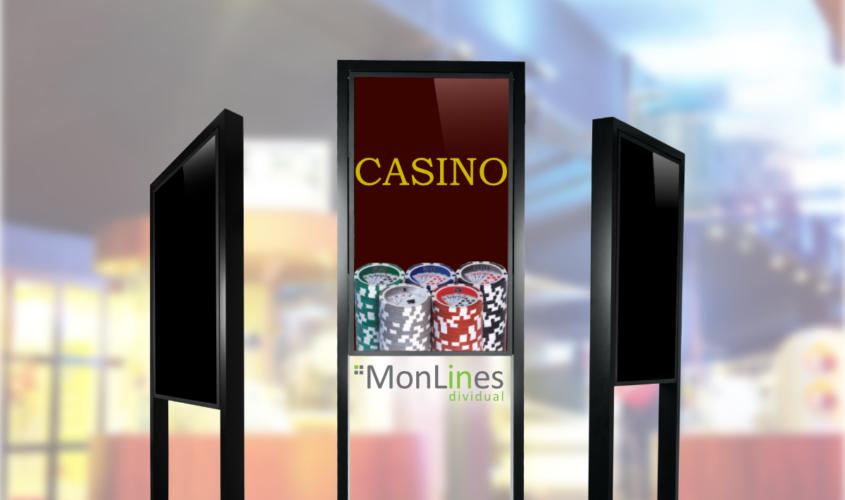 MonLines Monitor Einhausung für 65 Zoll Bildschirm