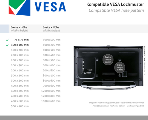 MonLines MTS700B Touchscreen Tisch Monitorständer, VESA