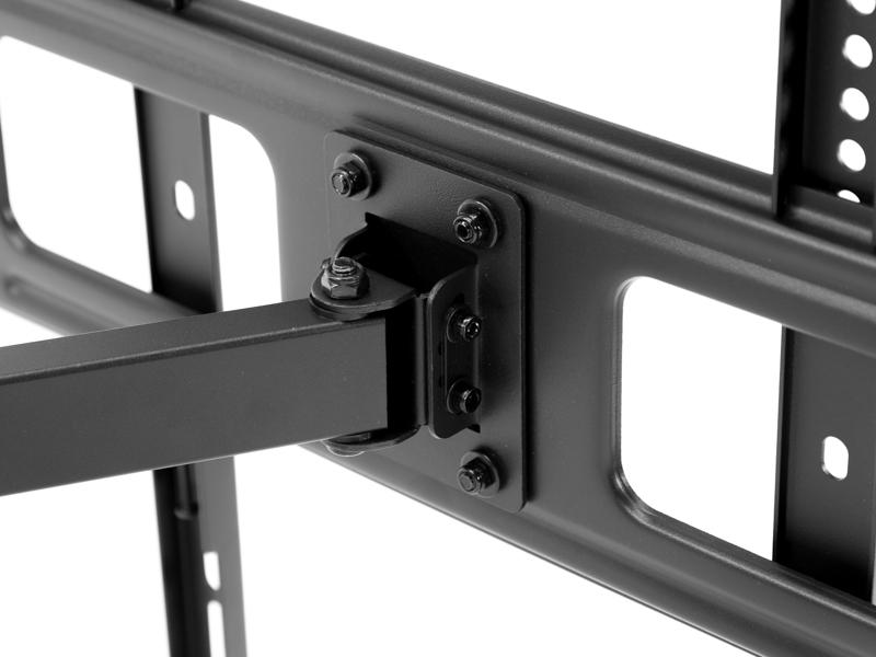 monlines mwh003b schwenkbare tv wandhalterung schwarz. Black Bedroom Furniture Sets. Home Design Ideas