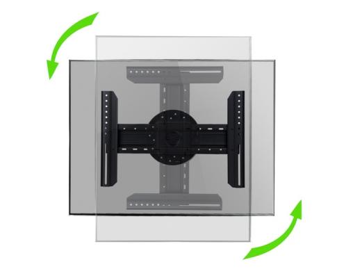 MonLines MWH006B TV Wandhalterung mit Pivot-Funktion