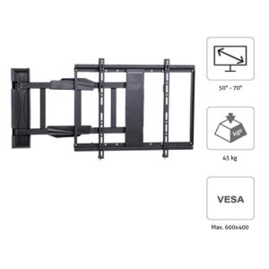 MonLines mySwing elektrische TV Wandhalterung, 50-70 Zoll, Features