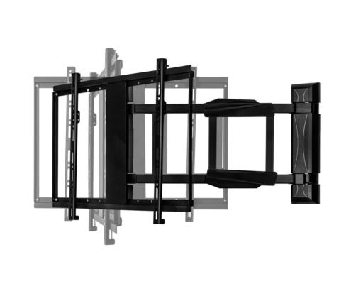 MonLines mySwing MSM05 elektrische TV Wandhalterung 50-70 Zoll, schwarz, Schwenkarm