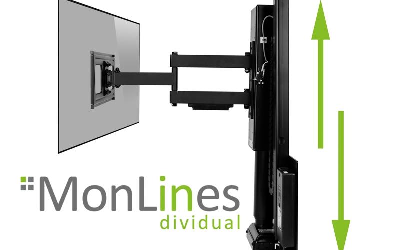 MonLines myTVLift Monitor Wandhalterung elektrisch