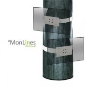 MonLines Säulenhalterung mit VESA Aufnahme