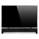 MonLines SBH001 Soundbar Halterung universal, Befestigung unter dem TV