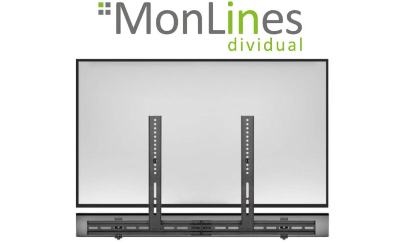 MonLines SBH002 Soundbar Halterung universal, VESA TV