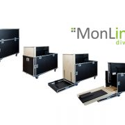 MonLines Transportbox mit Rampe für i3 Display