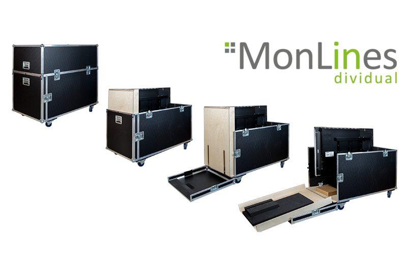 MonLines Transportbox mit Rampe für i3 Display