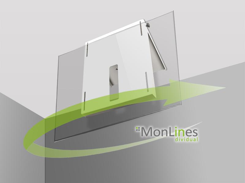 MonLines TV Deckenhalterung drehbar - monlines.de