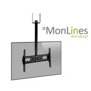 MonLines Decken TV Halterung für Holzbalken