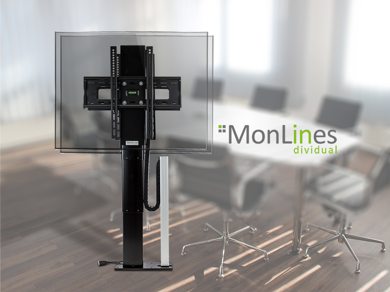 monlines tv lift dual r cken an r cken. Black Bedroom Furniture Sets. Home Design Ideas