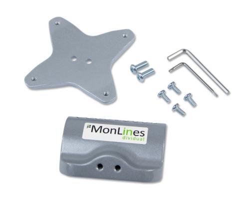 MonLines V019 VESA Adapter für Apple iMac Installationsmaterial
