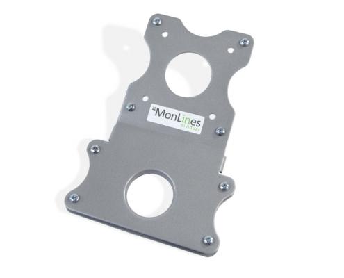MonLines V020 VESA Adapter für Apple iMac mit Standfuß