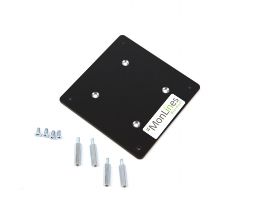 MonLines V066 VESA Adapter für Samsung LC27HG70 Installationsmaterial