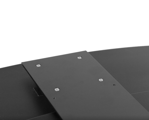 MonLines V070 VESA Adapter für Samsung C32F39 Curved Monitor