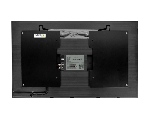 MonLines V071 VESA Adapter für Samsung Frame 32 Zoll QE32LS03T, Rückseite Monitor