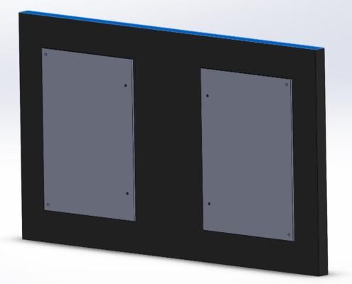 MonLines V071 VESA Adapter für Samsung Frame 32 Zoll Montage