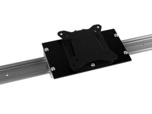 MonLines Wandschiene mit VESA Adapterplatte 75x75 und 100x100 mm