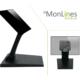 MonLines MTS700B Touchscreen Tisch Monitorständer