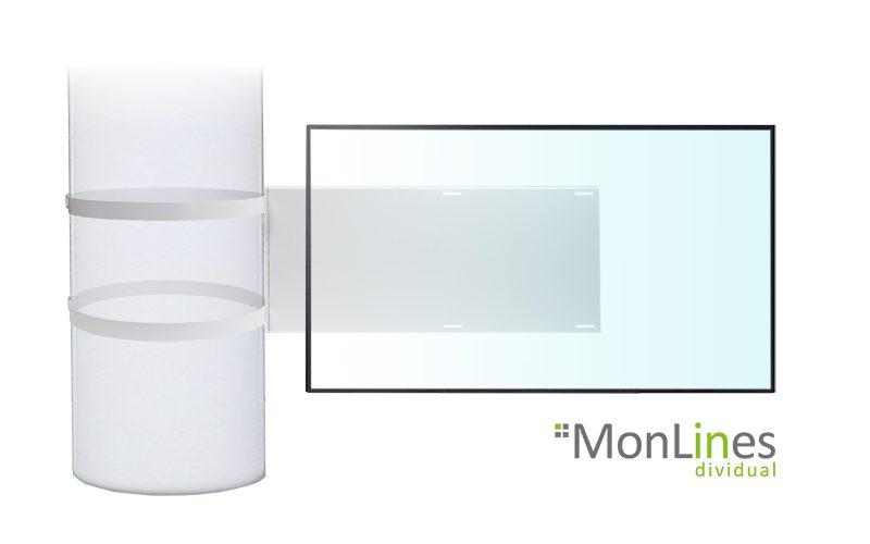 MonLines TV Säulenhalterung
